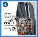 88. Riforma previdenziale per il Comparto Difesa e Sicurezza                       (Studio Legale Petruzzelli & Partners)