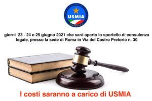 SPORTELLO DI CONSULENZA LEGALE GRATUITA