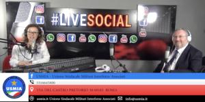Intervista del Presidente di USMIA su Radio Roma capitale Live social